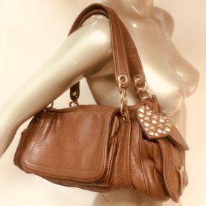 Juicy Couture Heart Charm Satchel Shoulder Bag